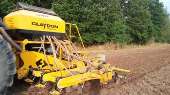 Secí stroj Claydon v Líšanech
