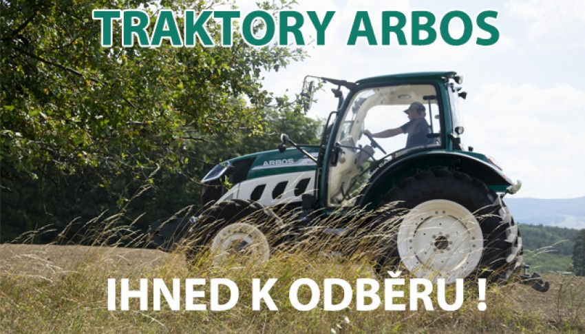 TRAKTORY ARBOS - IHNED K DISPOZICI !