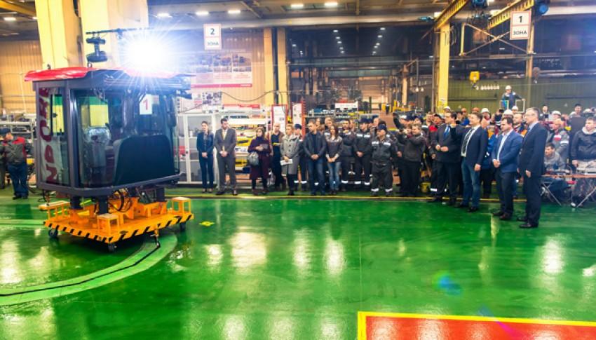 Nová výrobní linka na kabiny Kirovets