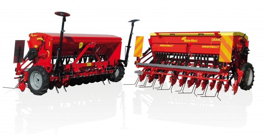 Matermacc GRANO 400 mechanický secí stroj