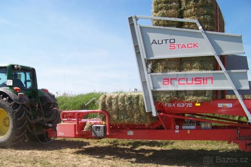 Automatický vůz pro sběr hranatých balíků Arcusin FSX 63.72