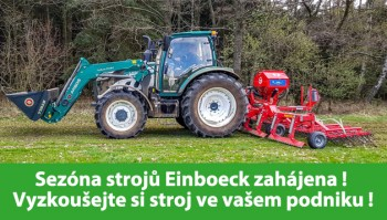 Sezóna strojů Einboeck právě probíhá!