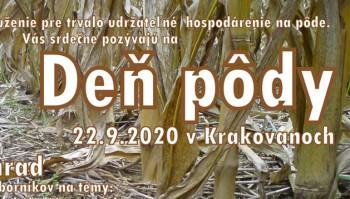 Deň pôdy 22.9.2020 Krakovany