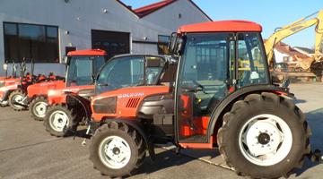 Kolové traktory