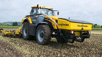 Čelní zásobník na hnojivo Claydon pro nesené stroje Hybrid