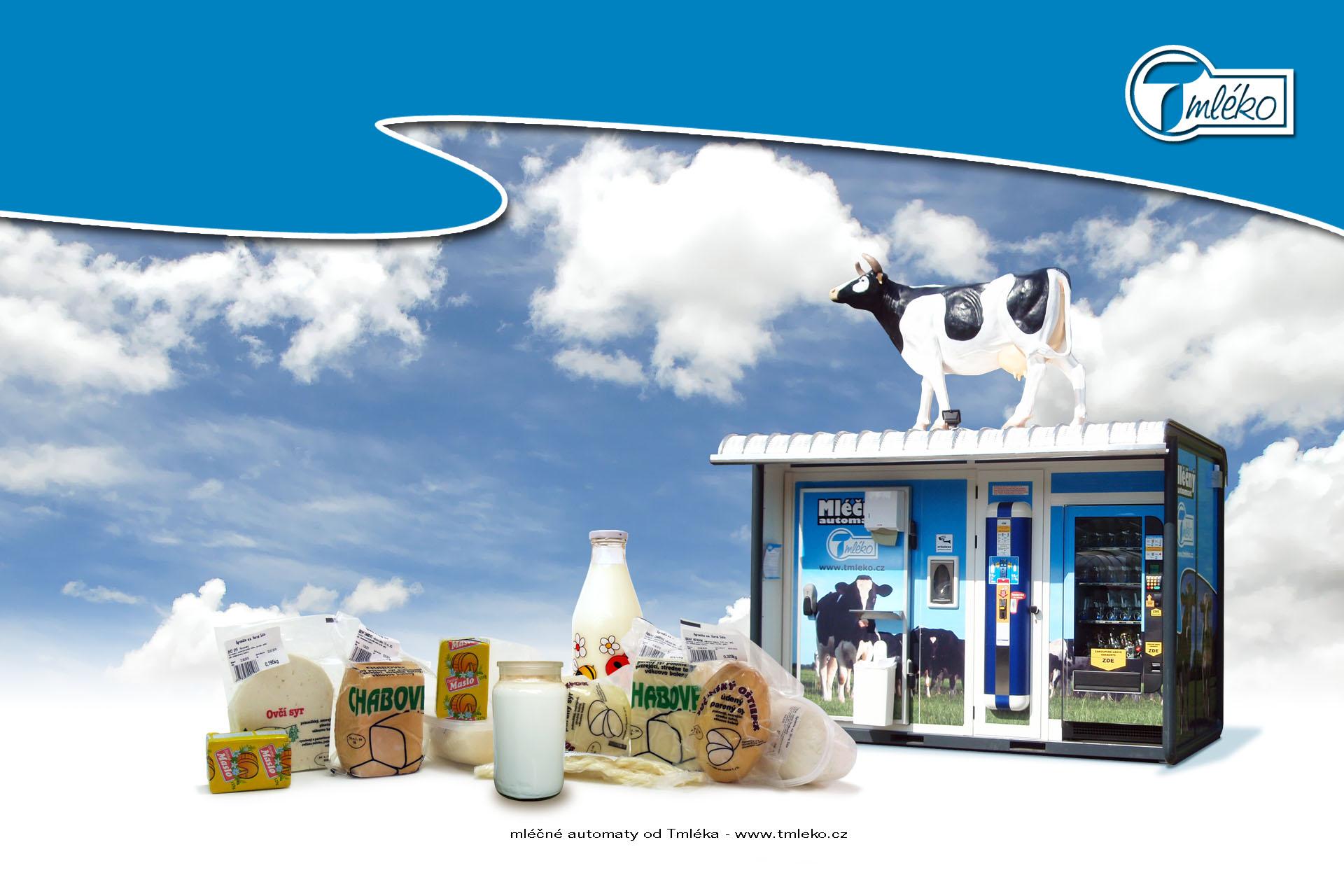 Mléčné automaty